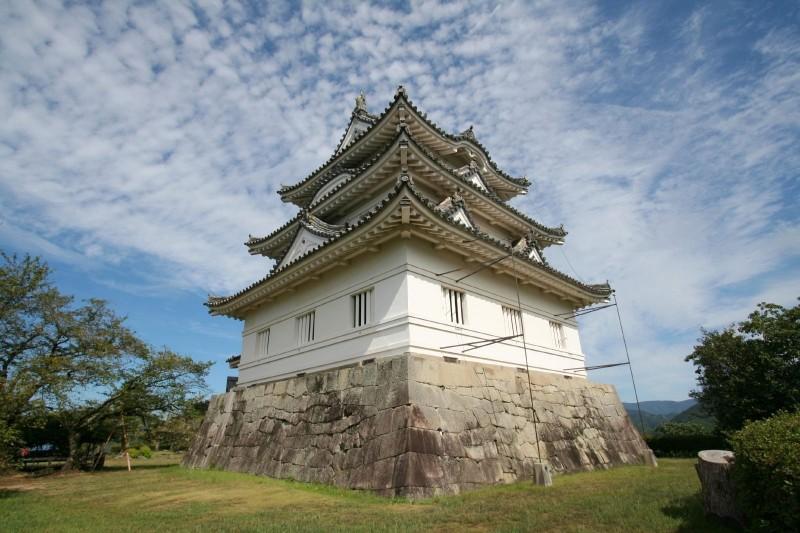 Uwajima castle in Ehime.