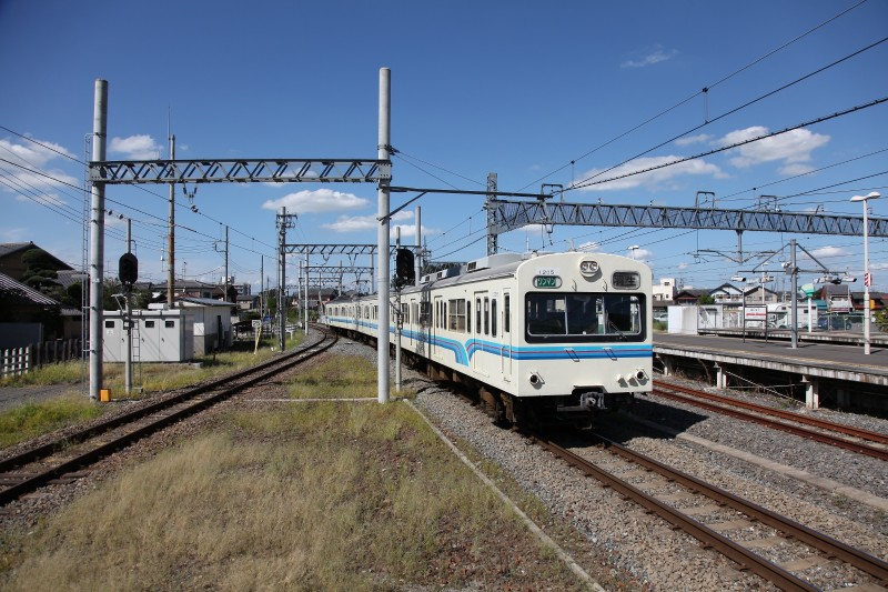 Chichibu-railway at Hanyu station